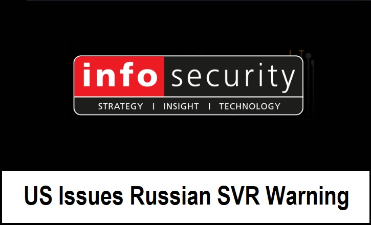 US Issues Russian SVR Warning